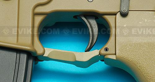 G&P Polymer Trigger Guard for M4 / M16 Series Airsoft AEG Rifles - Sand