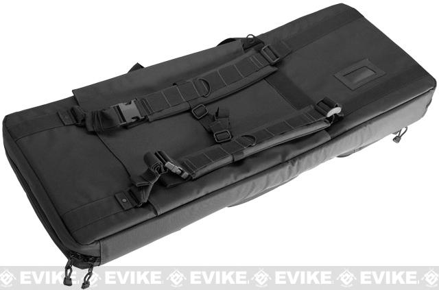 AIM Sports TGA 36 Padded Dual Weapon Case / Rifle Bag - Black