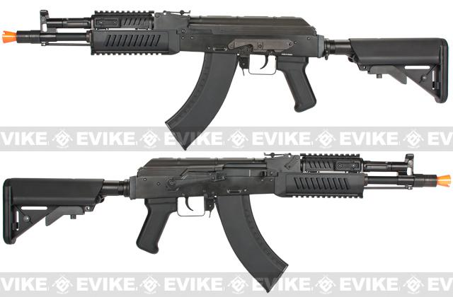 z G&G AK RK104 EVO Full Metal Airsoft AEG Rifle w/ Crane Stock