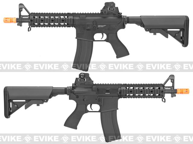 G&G TR15 Raider Airsoft Electric Blowback AEG Rifle - Black (Package: Add 9.6 Butterfly Battery + Smart Charger)