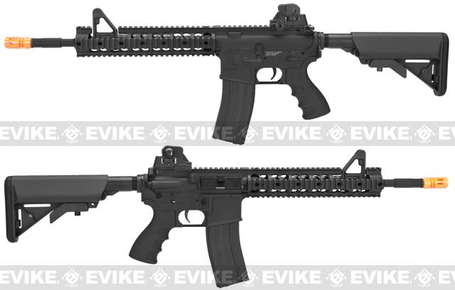 G&G TR15 Raider-XL Airsoft Electric Blowback AEG Rifle - Black (Package: Add 9.6 Butterfly Battery + Smart Charger)
