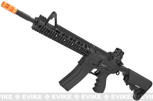 z G&G TR15 Raider-XL Airsoft Electric Blowback AEG Rifle - Black (Package: Gun Only)