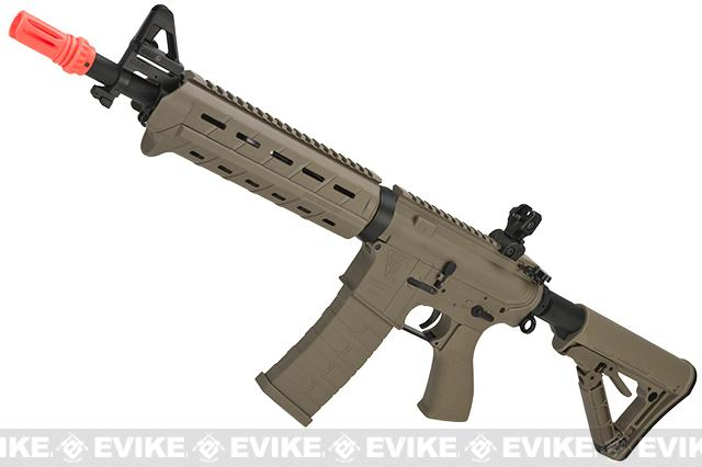 G&G Top Tech Full Metal TR4 Mod-0 Electric Blowback Airsoft AEG Rifle - Tan (Package: Gun Only)