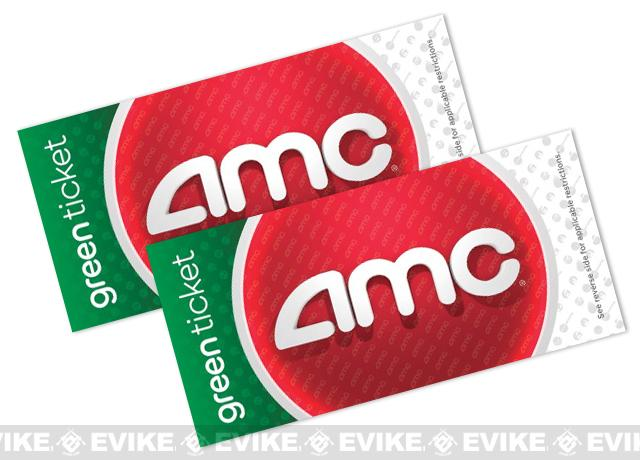 AMC Theater Green Movie Tickets (Package: 2 Tickets)