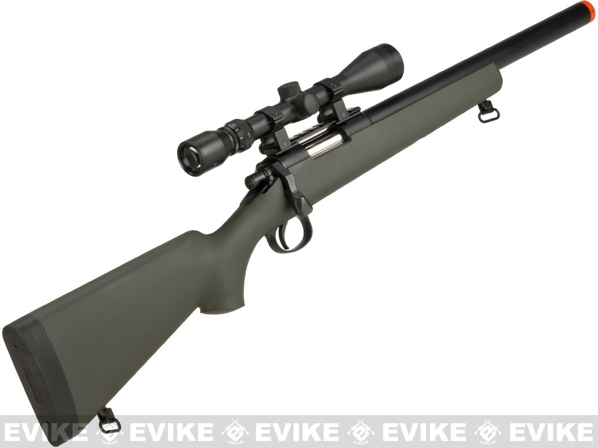 Tokyo Marui VSR-10 G-Spec Airsoft Sniper Rifle with Mock Suppressor - OD Green