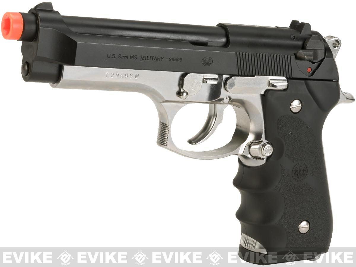 Tokyo Marui Government M9 Military Model Airsoft GBB Pistol - Two-Tone