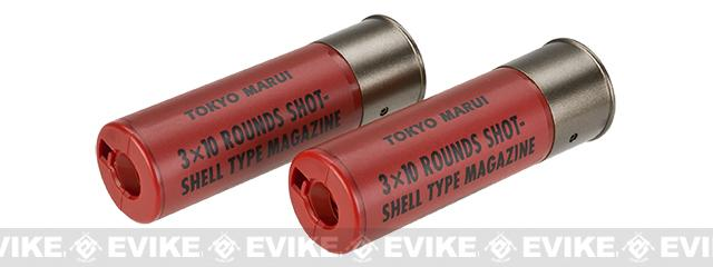Tokyo Marui 30rd Shotgun Shells for TM Style Airsoft Shotguns - Pack of 2 / Red