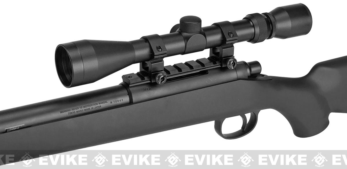 Tokyo Marui VSR-10 G-Spec Airsoft Sniper Rifle with Mock Suppressor - Matte Black