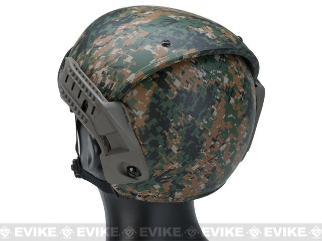 Avengers Air Flow Type Bump Helmet - Digital Woodland Marpat
