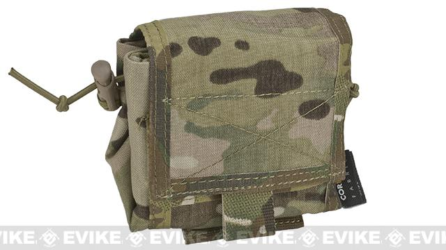 Roll-Up / Foldable Tactical MOLLE Utility Dump Pouch - Multicam