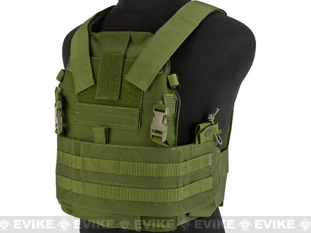 TMC Slick 94A Medium Plate Carrier Assault Panel - OD Green