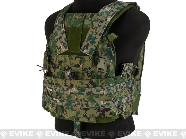TMC Slick 94A Medium Plate Carrier Assault Panel - AOR2