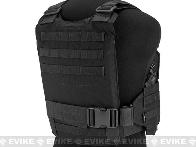 TMC Slick 94A Medium Plate Carrier Assault Panel - Black