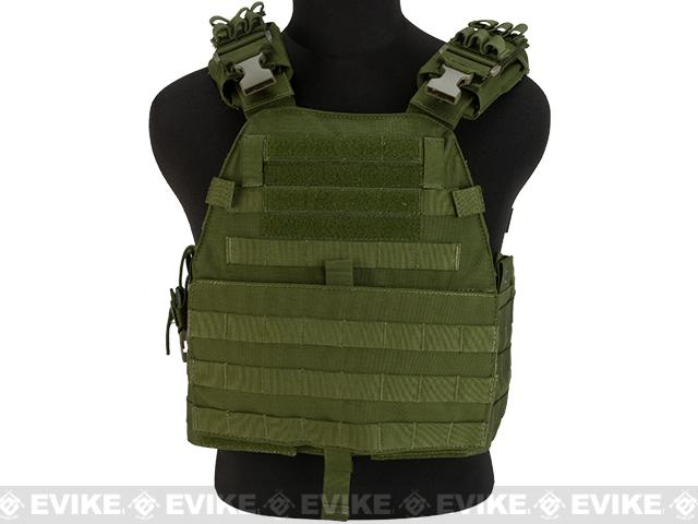 TMC EG Assault Plate Carrier - OD Green