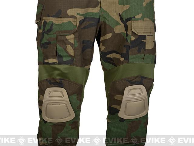 z TMC Gen2 Tactical Pants w/ Built-in Knee Pads - Woodland / Large