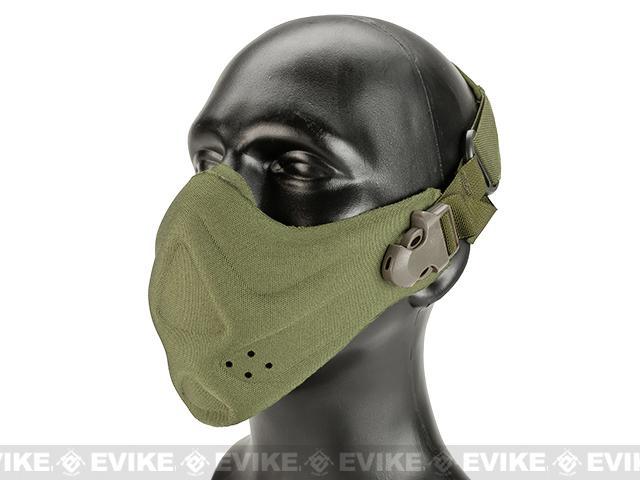Matrix High Speed Lightweight Half Face Mask (Color: Khaki)