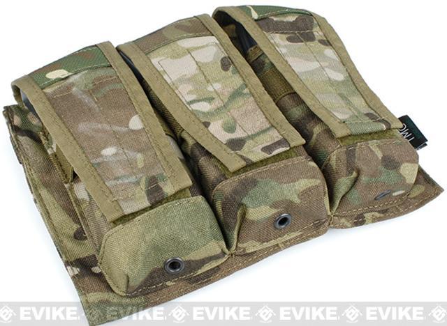 TMC MOLLE AVS Style M4 / M16 Triple Mag Pouch - Multicam