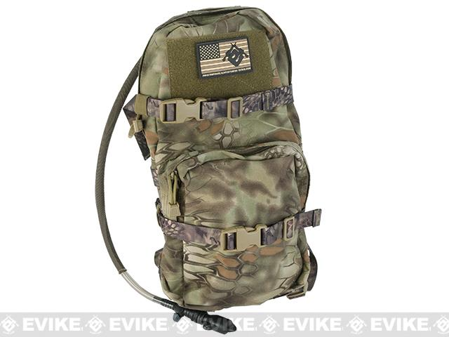 TMC Modular Assault Pack W/ 3L Hydration Bladder (Color: Forest Serpent)