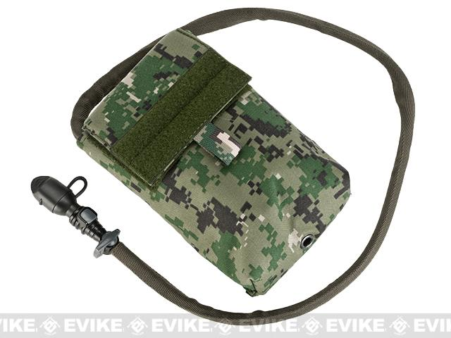 TMC 27oz Tactical MOLLE Double-Insulated Hydration Pouch with Bladder (Color: AOR2)
