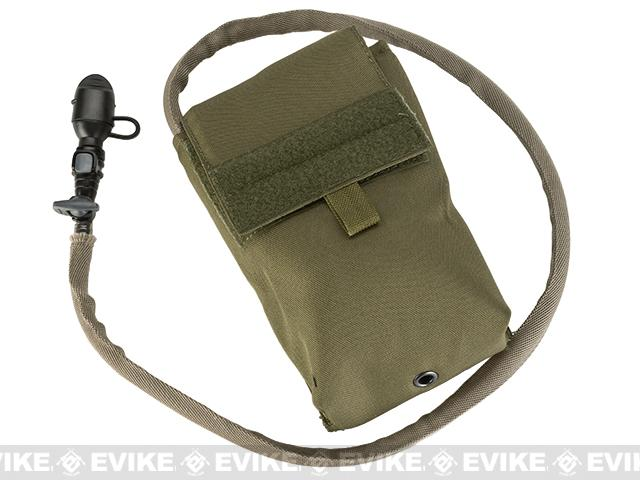 z TMC 27oz Tactical MOLLE Double-Insulated Hydration Pouch with Bladder (Color: Khaki)