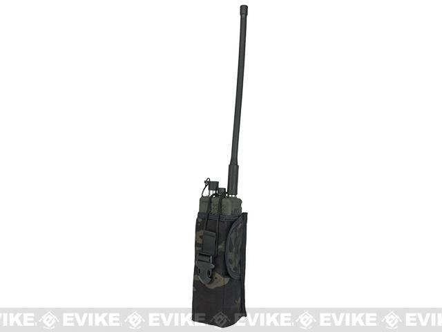 TMC PRC148 Radio Pouch - Multicam Black