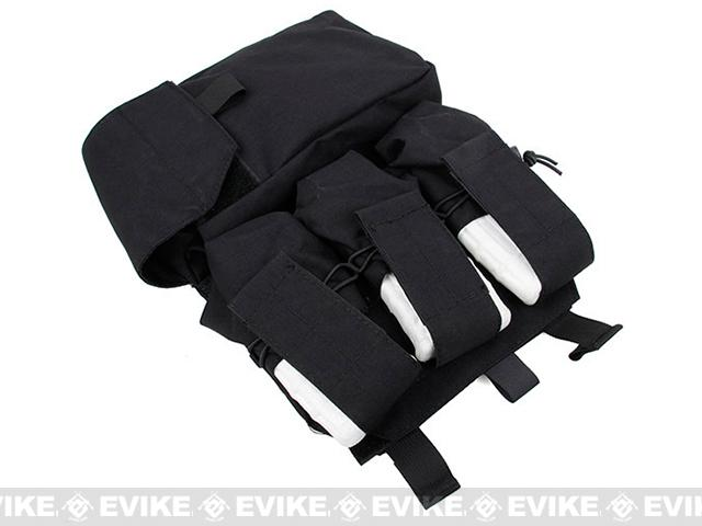 TMC MOLLE Assault Back Panel - Black