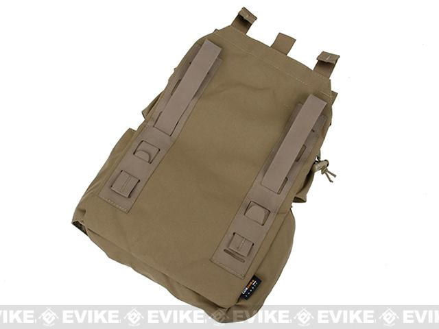 TMC MOLLE Assault Back Panel - Coyote Brown