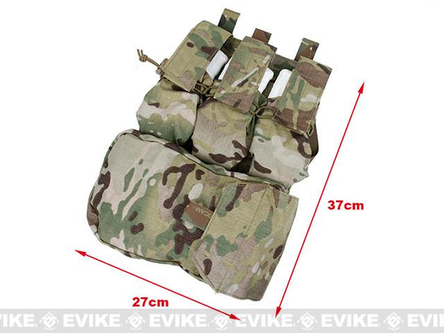 TMC MOLLE Assault Back Panel - Multicam