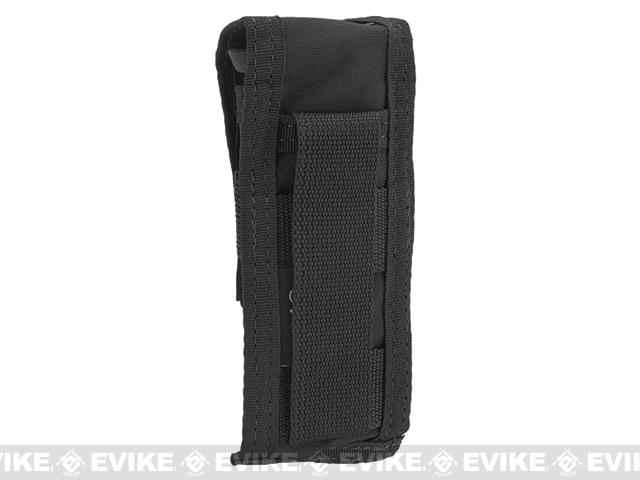 TMC Single Pistol Magazine MOLLE Pouch - Black