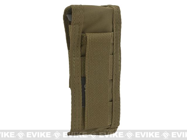 TMC Single Pistol Magazine MOLLE Pouch - Coyote