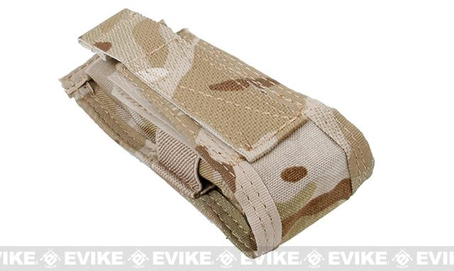TMC Single Pistol Magazine MOLLE Pouch - Multicam Arid