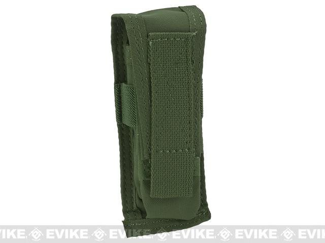 TMC Single Pistol Magazine MOLLE Pouch - OD Green