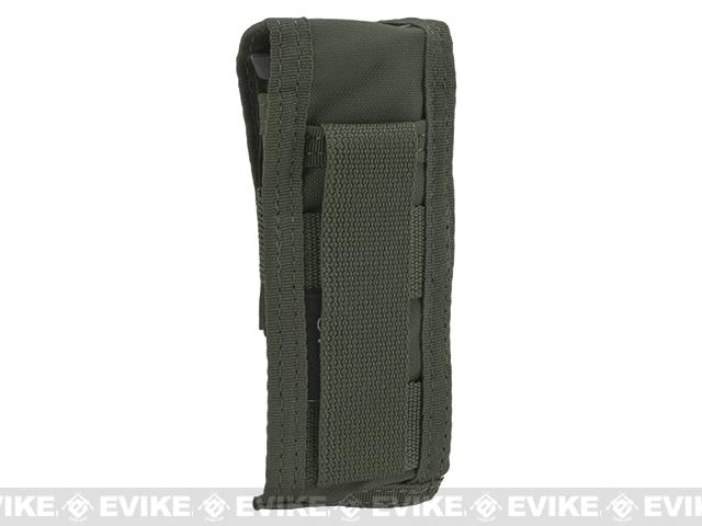 TMC Single Pistol Magazine MOLLE Pouch - Ranger Green