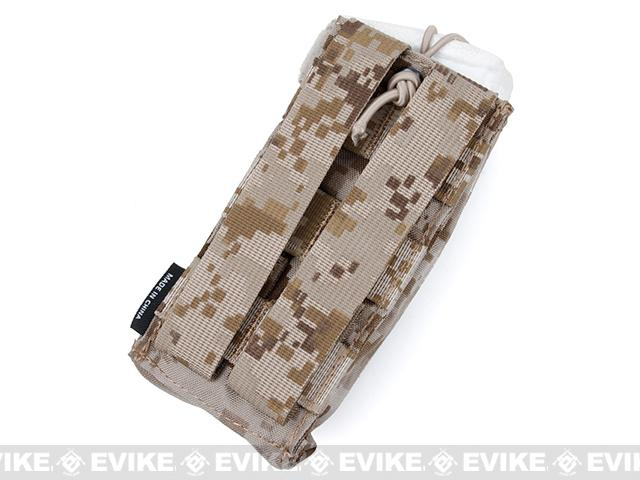 TMC Tactical MOLLE Patrol Radio Pouch - AOR1