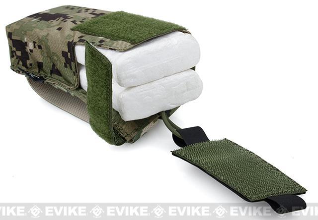 TMC Tactical MOLLE Patrol Radio Pouch - AOR2