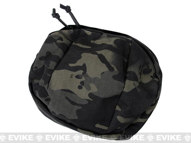 TMC MOLLE Billowed Utility Pouch - Multicam Black