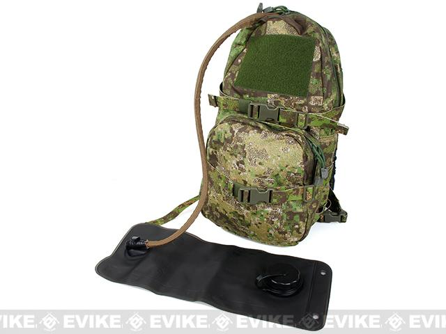 TMC Modular Assault Pack w/ 3L Hydration Bag (Color: Penncott GreenZone)