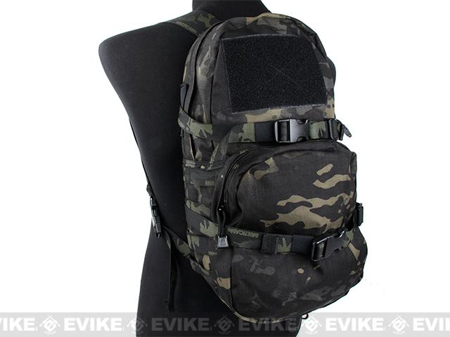 TMC Modular Assault Pack w/ 3L Hydration Bag (Color: Multicam Black)