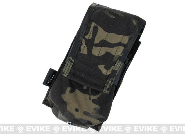 TMC Single Magazine Pouch for 417 Magazines - Multicam Black