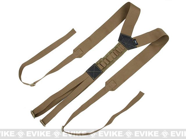 TMC Tactical Belt Suspenders - Coyote