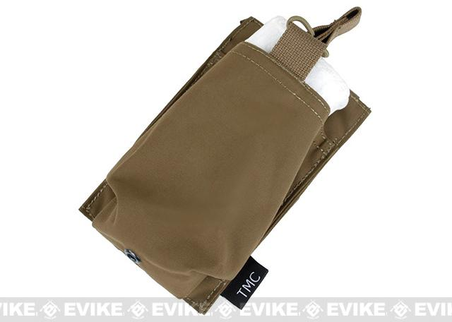 TMC Open Top Single Magazine Pouch for 417 Magazines - Coyote