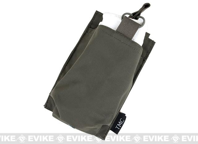 TMC Open Top Single Magazine Pouch for 417 Magazines - Ranger Green