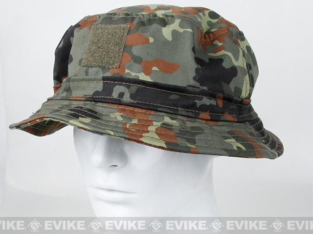 Rasputin Camouflage Bucket Hat - Flecktarn (Size: Medium)