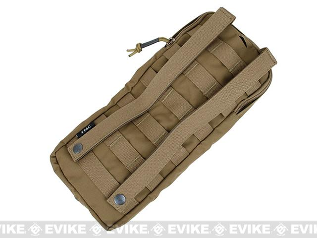 TMC MOLLE Compatible Low Profile Hydration Pouch - Coyote