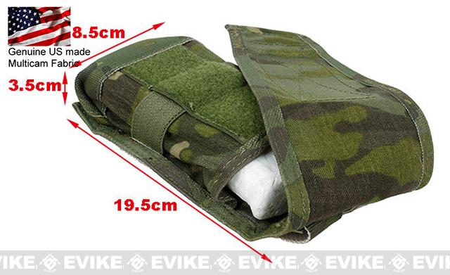 TMC MOLLE Single M4/M16 Magazine Pouch - Multicam Tropic