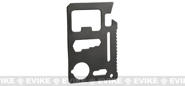 Alhambra Police Foundation Steel Black CNC Credit Card Sized Multi-Tool