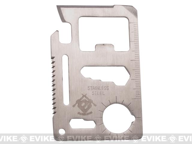 Evike.com Stainless Steel CNC Credit Card Sized Multi-Tool