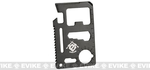 Evike.com Steel Black CNC Credit Card Sized Multi-Tool
