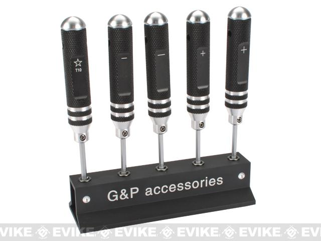 G&P Precision 5pc Screwdriver Set - P/S