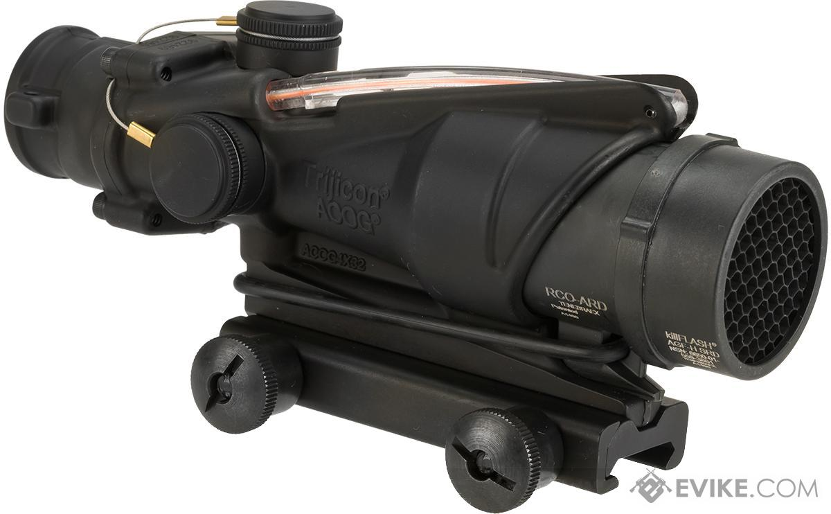 Trijicon ACOG 4x32 RCO Scope with Red Chevron Reticle Illumination with Thumbscrew Mount